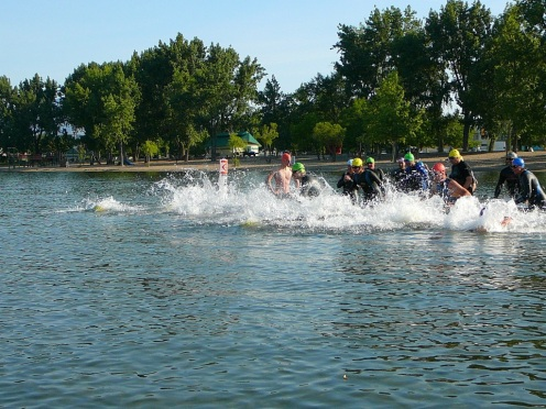 Gyroswimloopstart